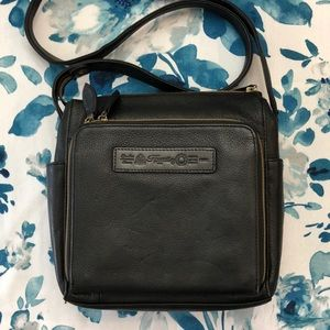 Gently used Fossil black purse